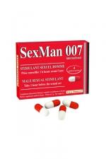 Aphrodisiaque SexMan 007 - 4 gélules