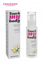 Fluide massage & lubrifiant Touch my body